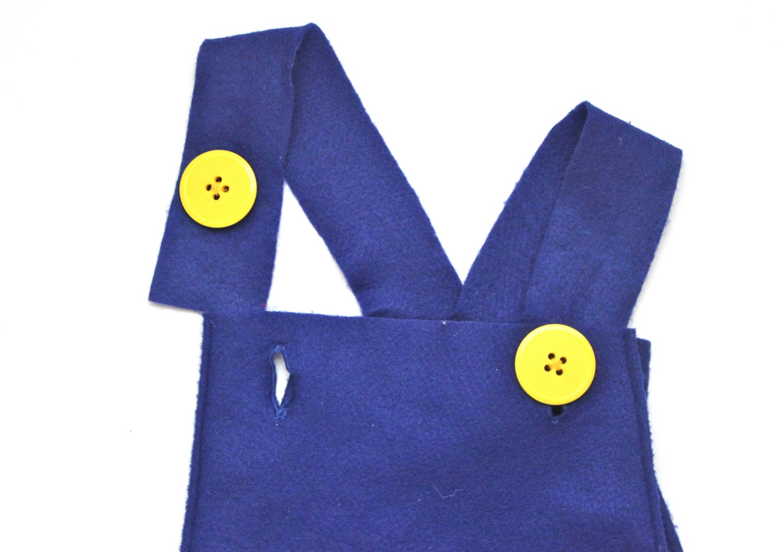 Try the overalls on your little one and figure out where you need to sew on the buttons and that is it! Now you have yourself the cutest little pair (or ...  sc 1 st  Smashed Peas u0026 Carrots & How to Make Mario and Luigi Costumes Tutorial - Smashed Peas u0026 Carrots