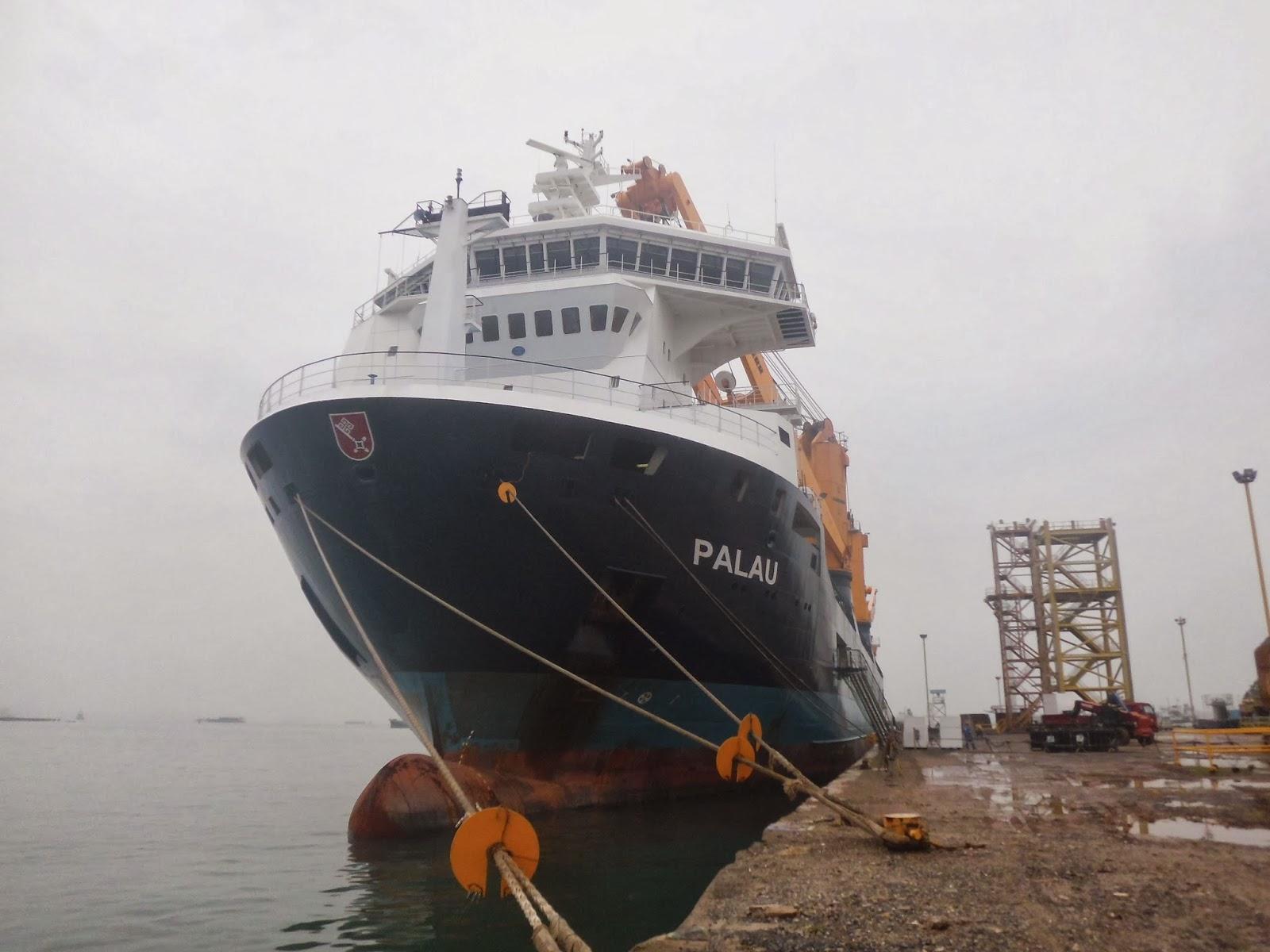 Pre Loading Survey MV. PALAU