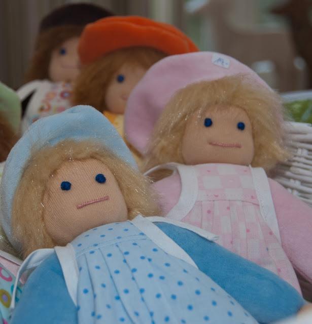Puppen, Stoff, Handwerk, naehen