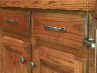 Cleaning Kitchen Cabinet Handles