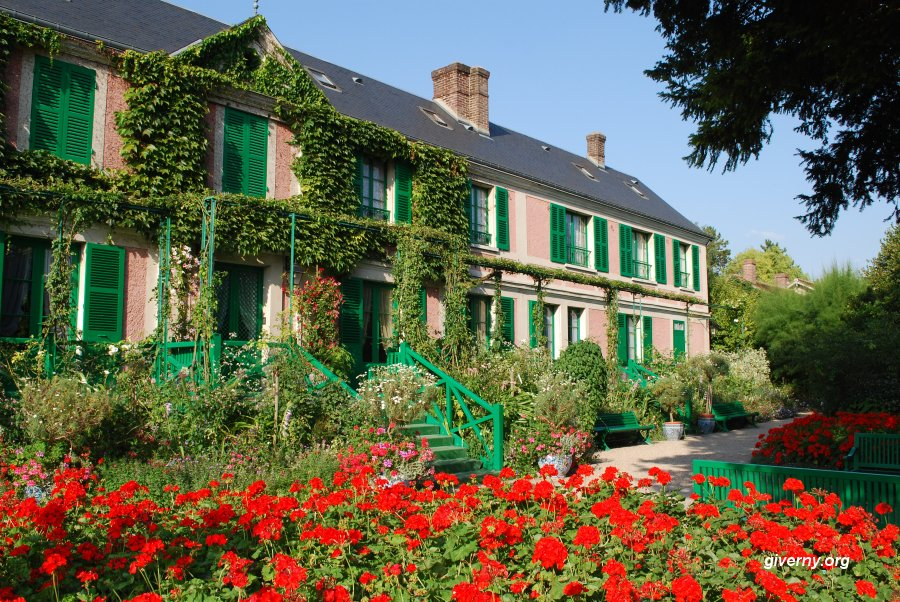 Fran ais loisir arts claude monet for Jardin giverny