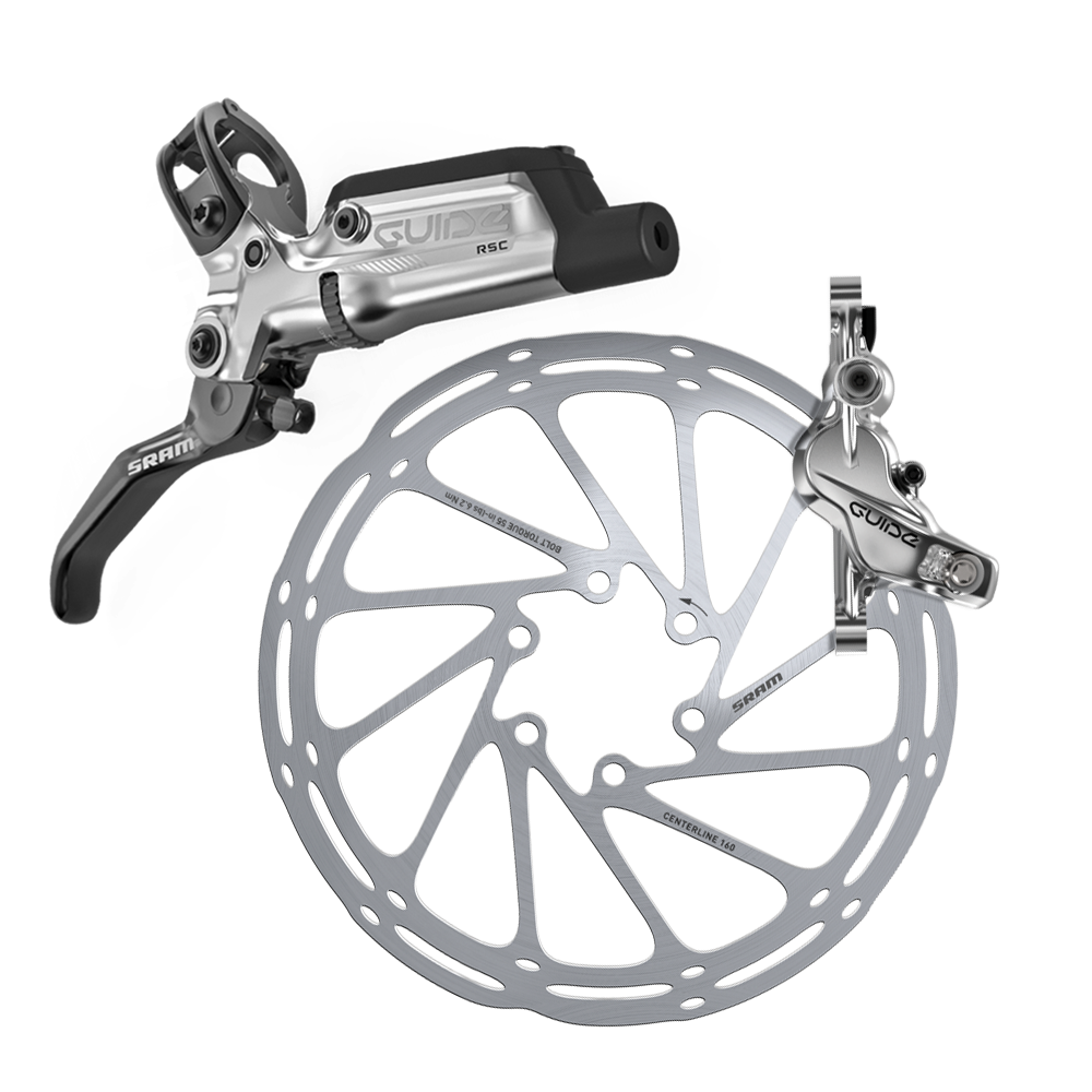 SRAM Guide RSC with lever calliper and disc