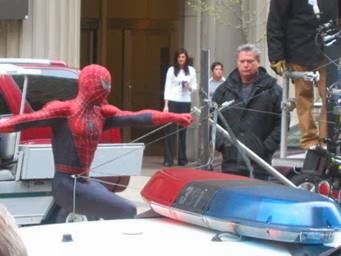 Spider-Man in Cleveland.