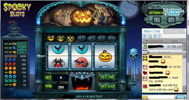 pogo spooky slots 2014