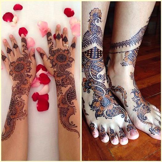 Journey To The Day: My Henna Tattoo :p