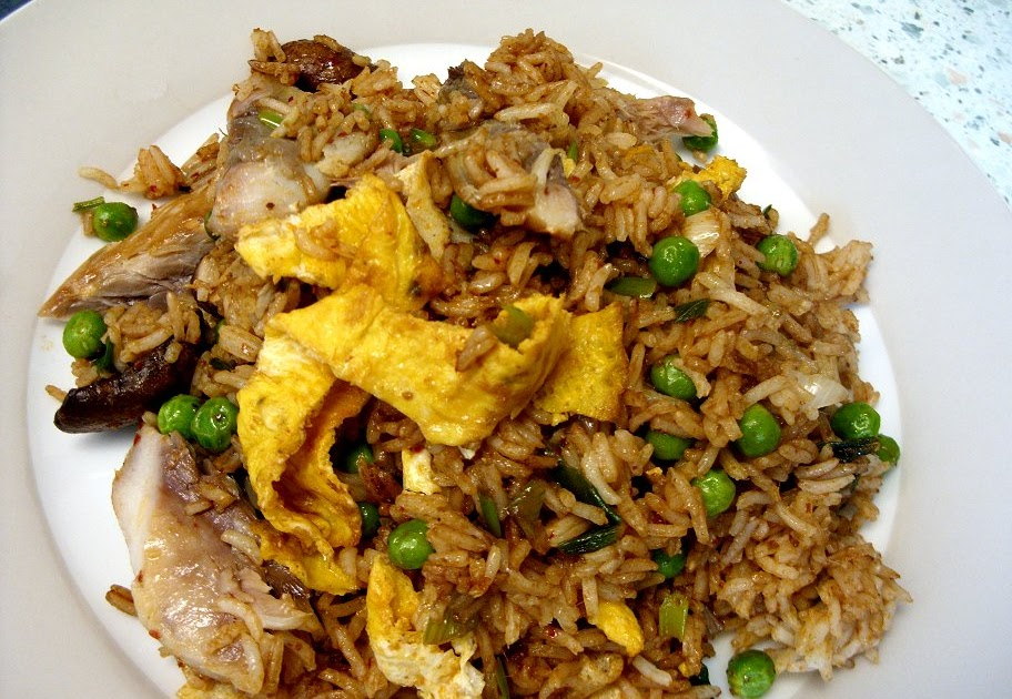 Jenny eatwell 39 s rhubarb ginger indonesian fried rice for Ted s fish fry