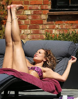 Sophie Anderton Purple Bikini London