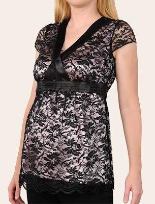 Contoh Model Baju Hamil Terbaru 2012