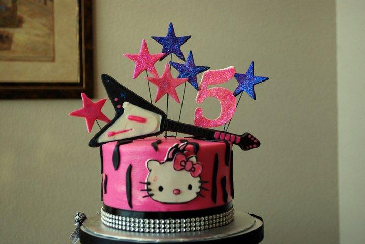 Wonderfully Delicious Cakes Rock Star Hello Kitty