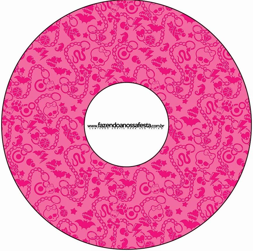 Etiqueta para CDs.