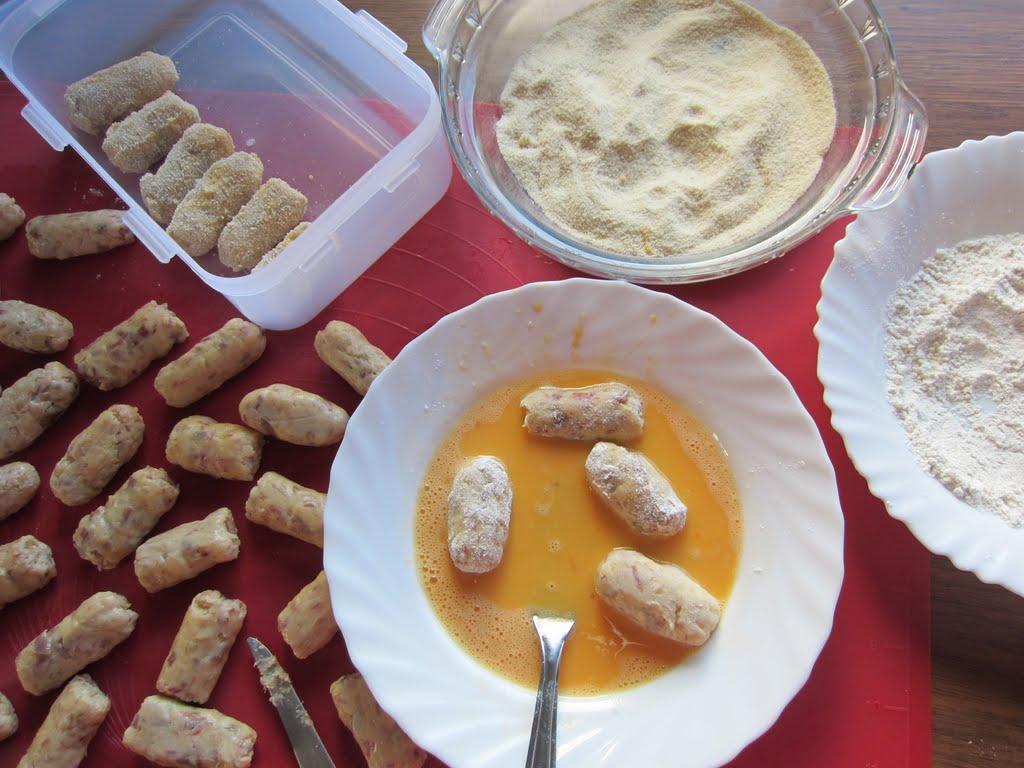 Una pincelada en la cocina croquetas caseras de cocido for Cocina 5 ingredientes jamie