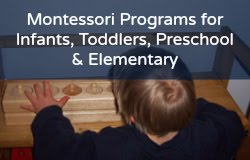 Affordable Montessori Programs!