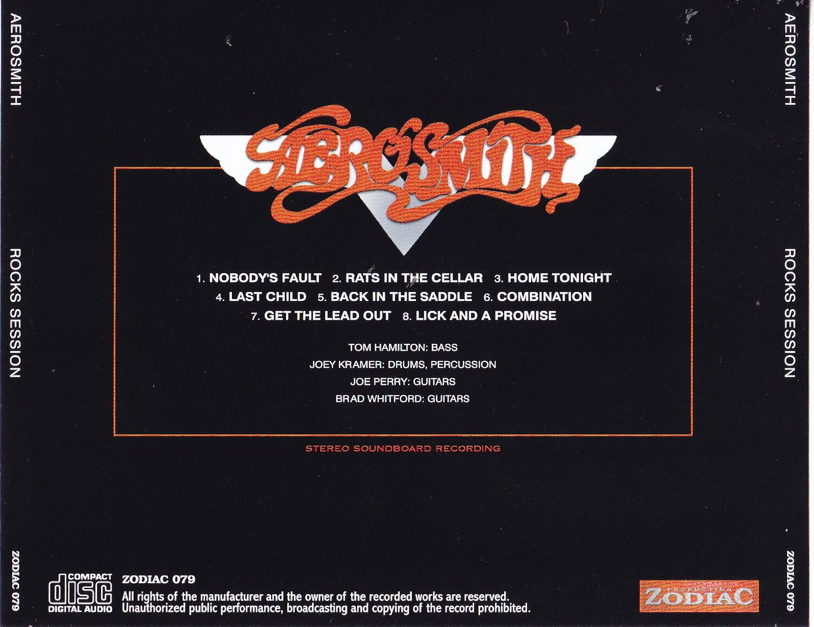 World Of Bootlegs Bootleg Aerosmith Rocks Sessions