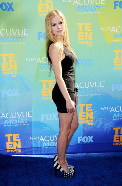 Avril Lavigne Pics from Teen Choice Awards