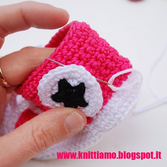 scarpa in cotone per neonati