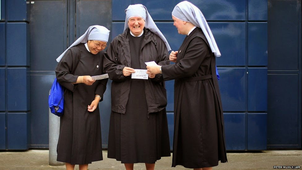 These sisters will tally the votes.