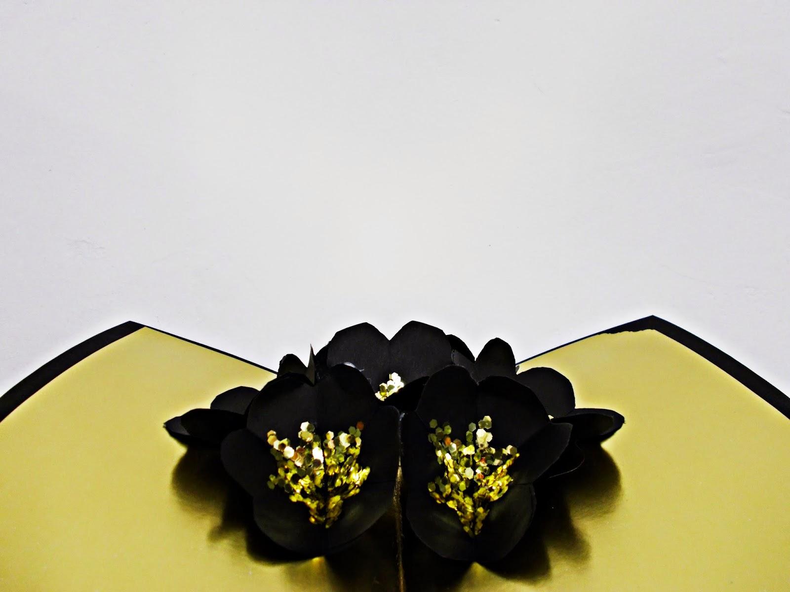 DIY-craft-tarjeta navideña-pop up-navidad-flores-Christmas-felicitación-5