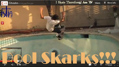 Backyard Pool Skateboarding Video