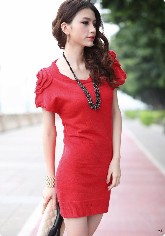 2012 latest winter fashion dressesclothes for women