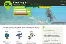 Planificar viajes online: Way Away