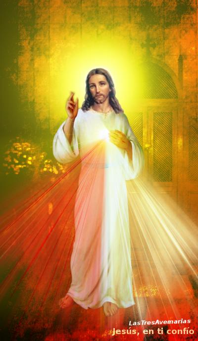 la divina misericordia con confesionario detras