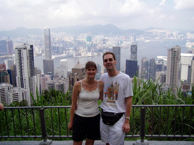 Views from Victoria Peak Hong Kong
