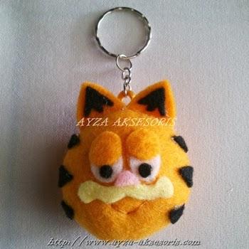 Gantungan Kunci Garfield - Ayza Aksesoris