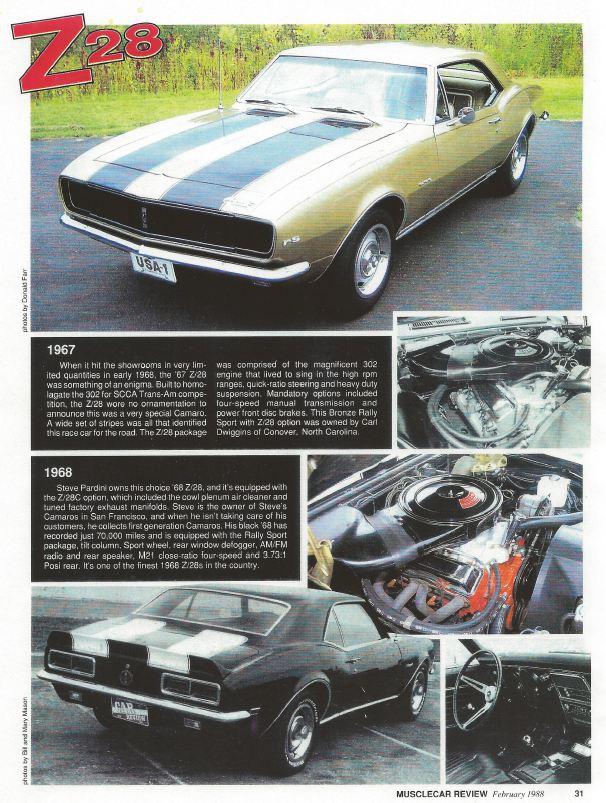 Steve\'s Camaro Parts: January 2012