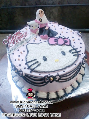 Kue Tart Hello Kitty Cantik Buttercream