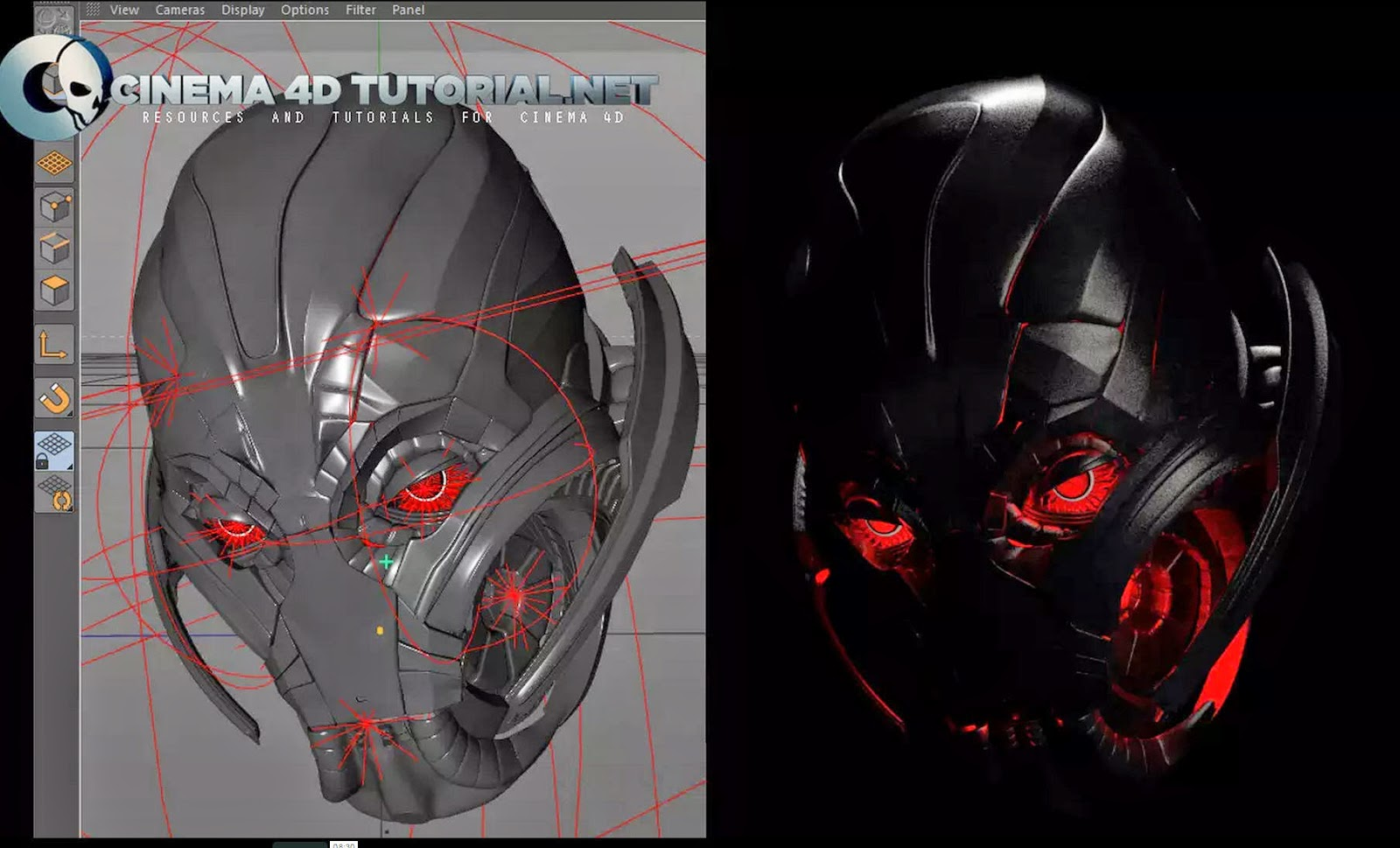 Character Design Cinema 4d Tutorial : Creating avengers age of ultron d character in cinema d cg