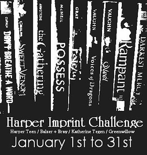 Harper YA Reading Challenge in January: Sign Ups Still Open!