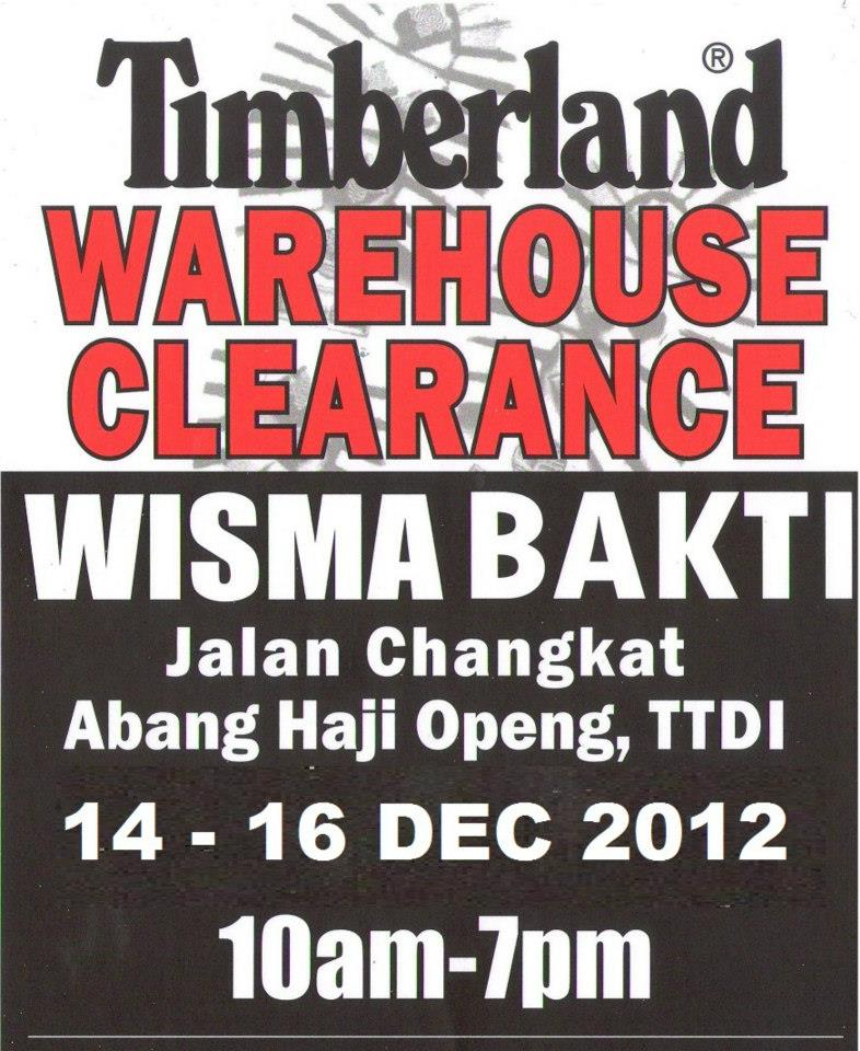 timberland clearance sale citta mall