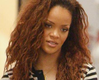 Rihanna tiftik saç modeli