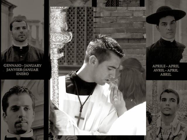 Calendário com padres atraentes vende mais que calendário de mulheres despidas