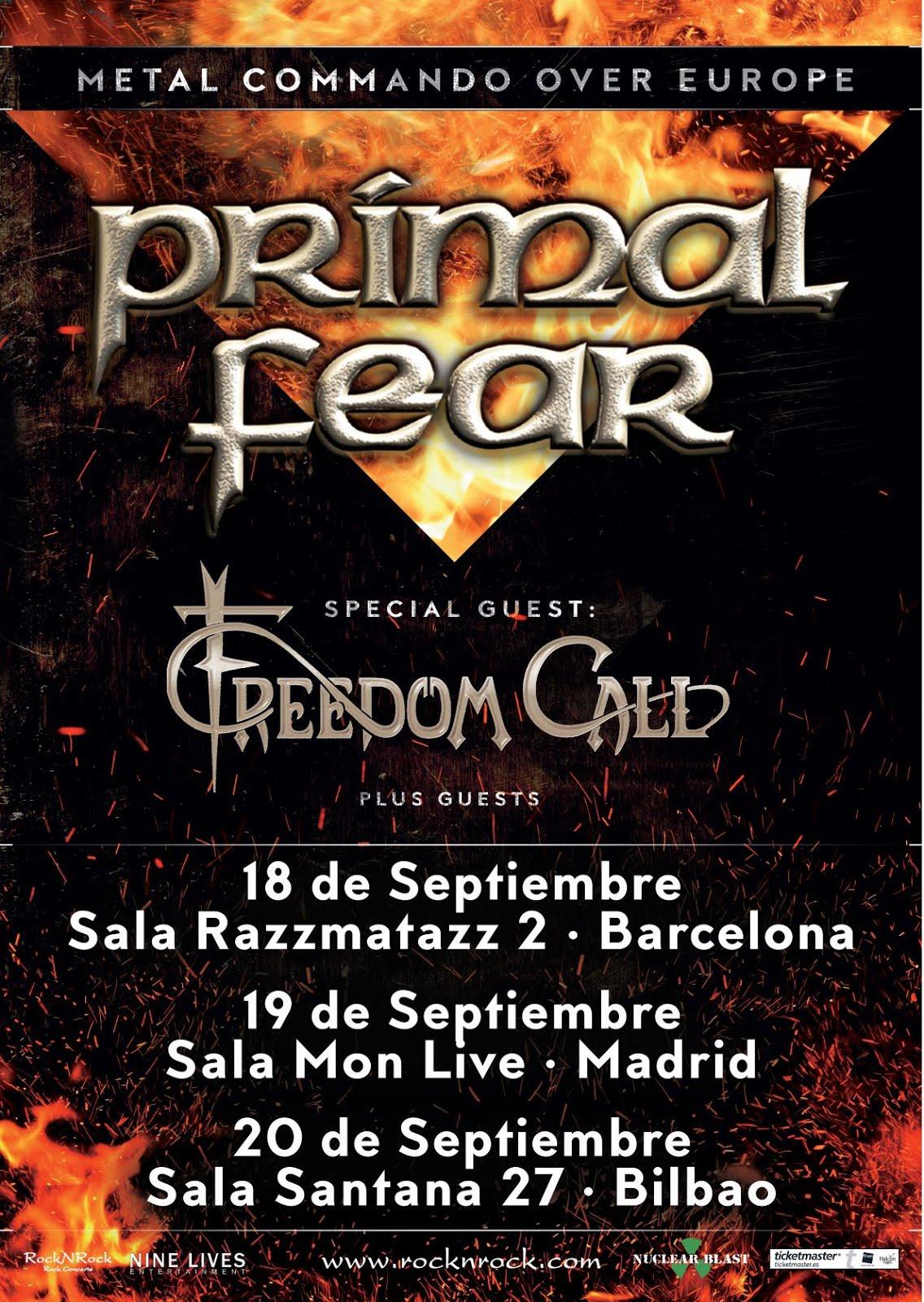 PRIMAL FEAR EN ESPAÑA