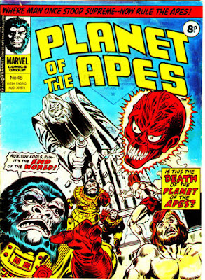 Marvel UK, Planet of the Apes #45
