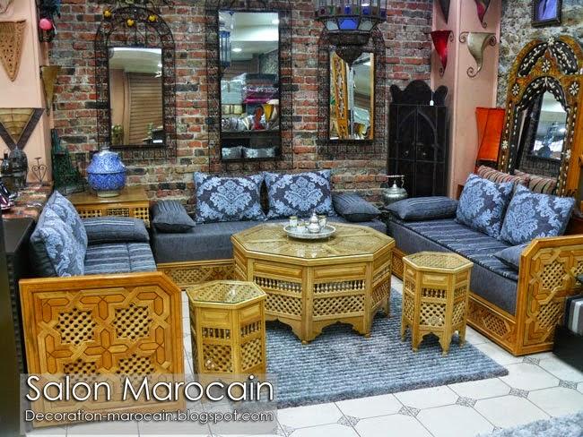 Conception Salon Marocain Carrément Exceptionnel
