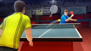 Screenshots of the Table tennis champion for Android tablet, phone.