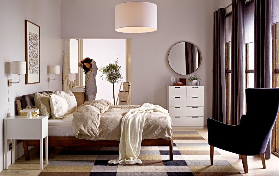 Chambre Blanche Et Noir : conseils déco et relooking 20 chambres Ikea avec un design parfait