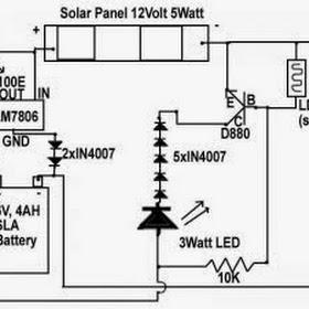 emergency light circuit  elegant emergency light circuit