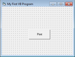 your first easiest vb program
