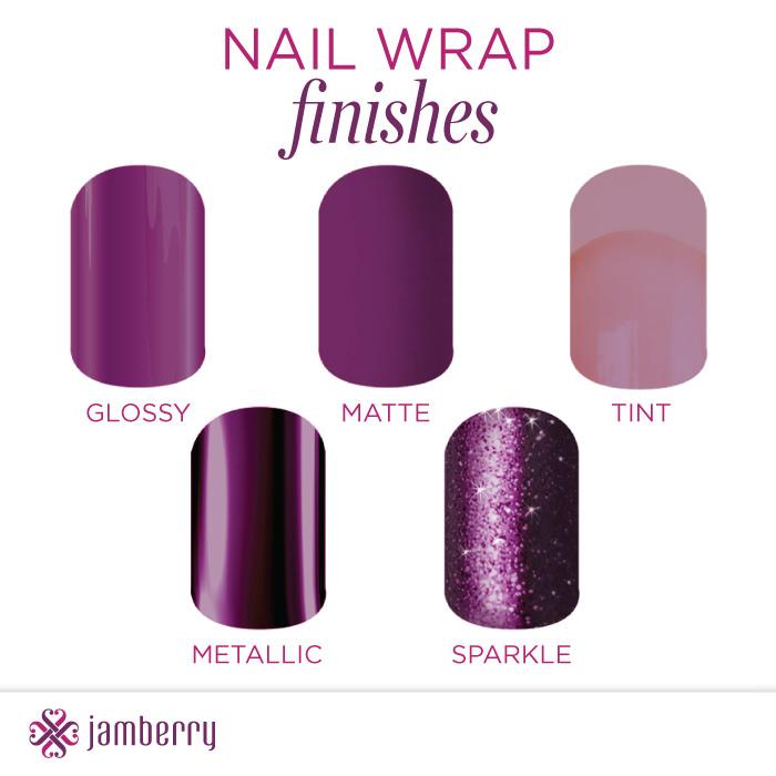 Jammin\' JamBunnies: Jamberry Wrap Finishes - Glossy, Matte, Tint ...