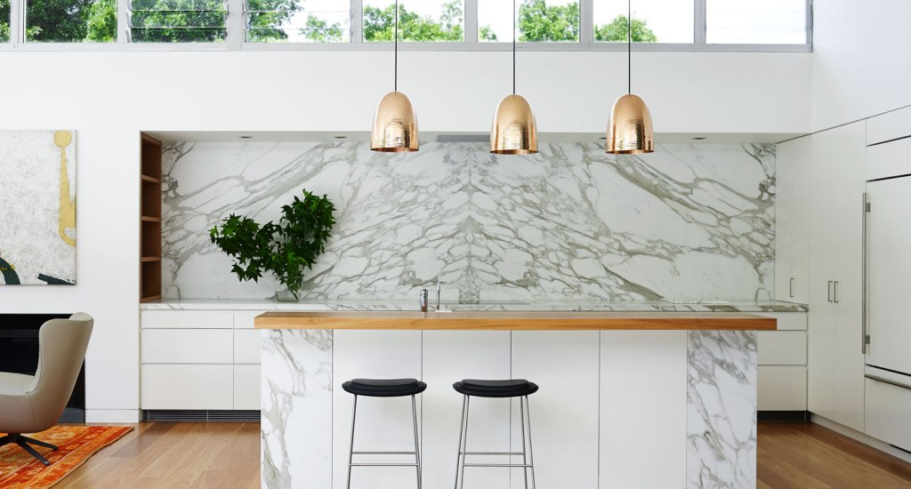 Cocinas con estilo for Encimera de marmol precio