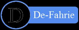 De-Fahrie Blog
