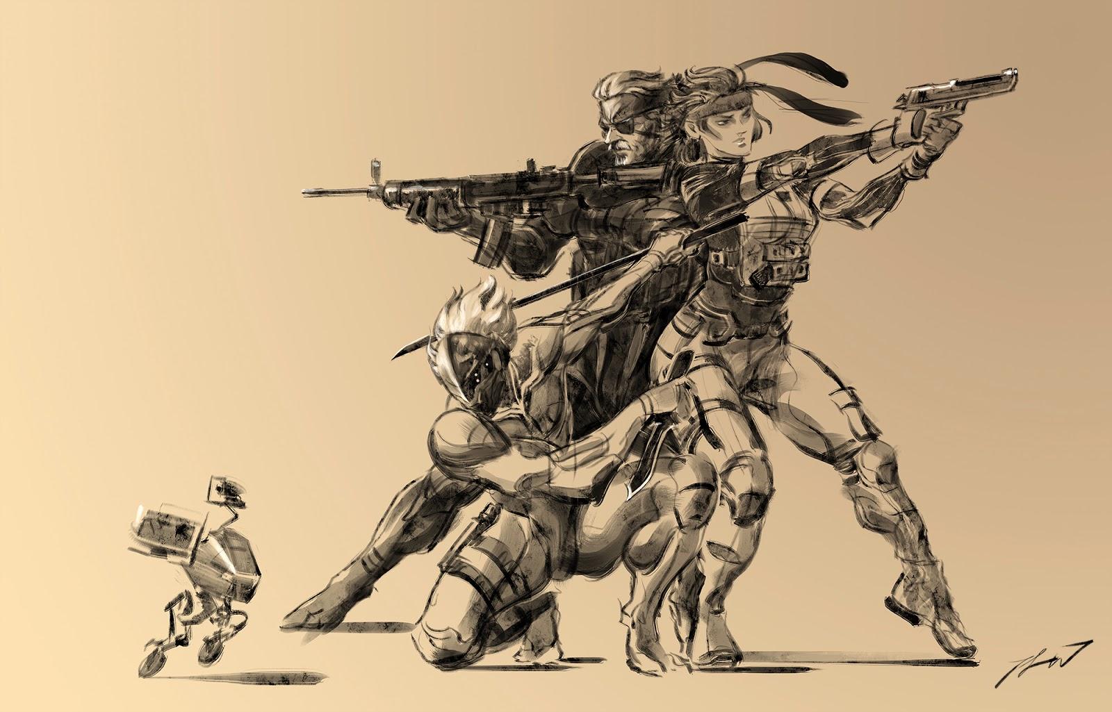Yoji shinkawa concept art images for Concept metal