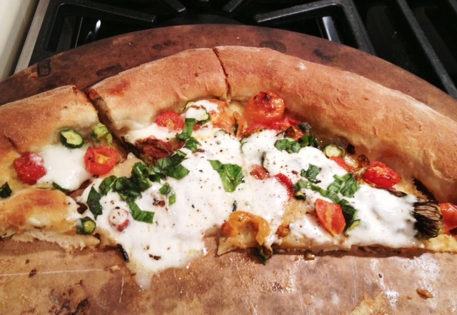 Squash Blossom And Burrata Pizza Recipes — Dishmaps