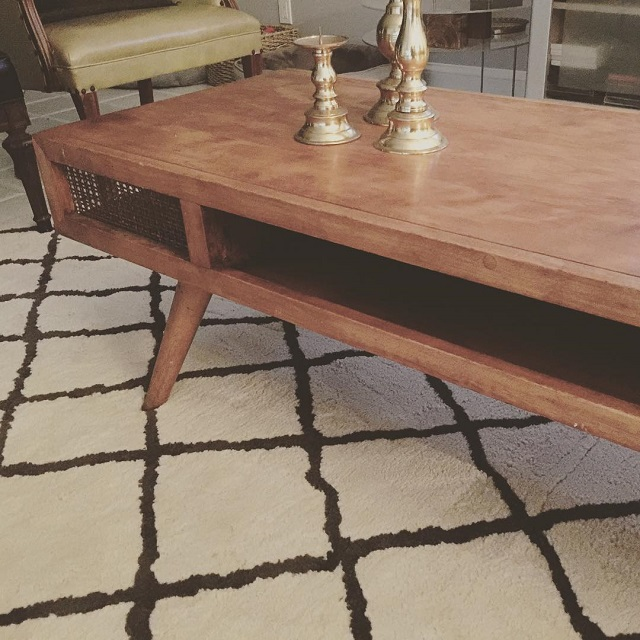 #thriftscorethursday Week 76   Instagram user: design_it_vintage shows off this MCM Table