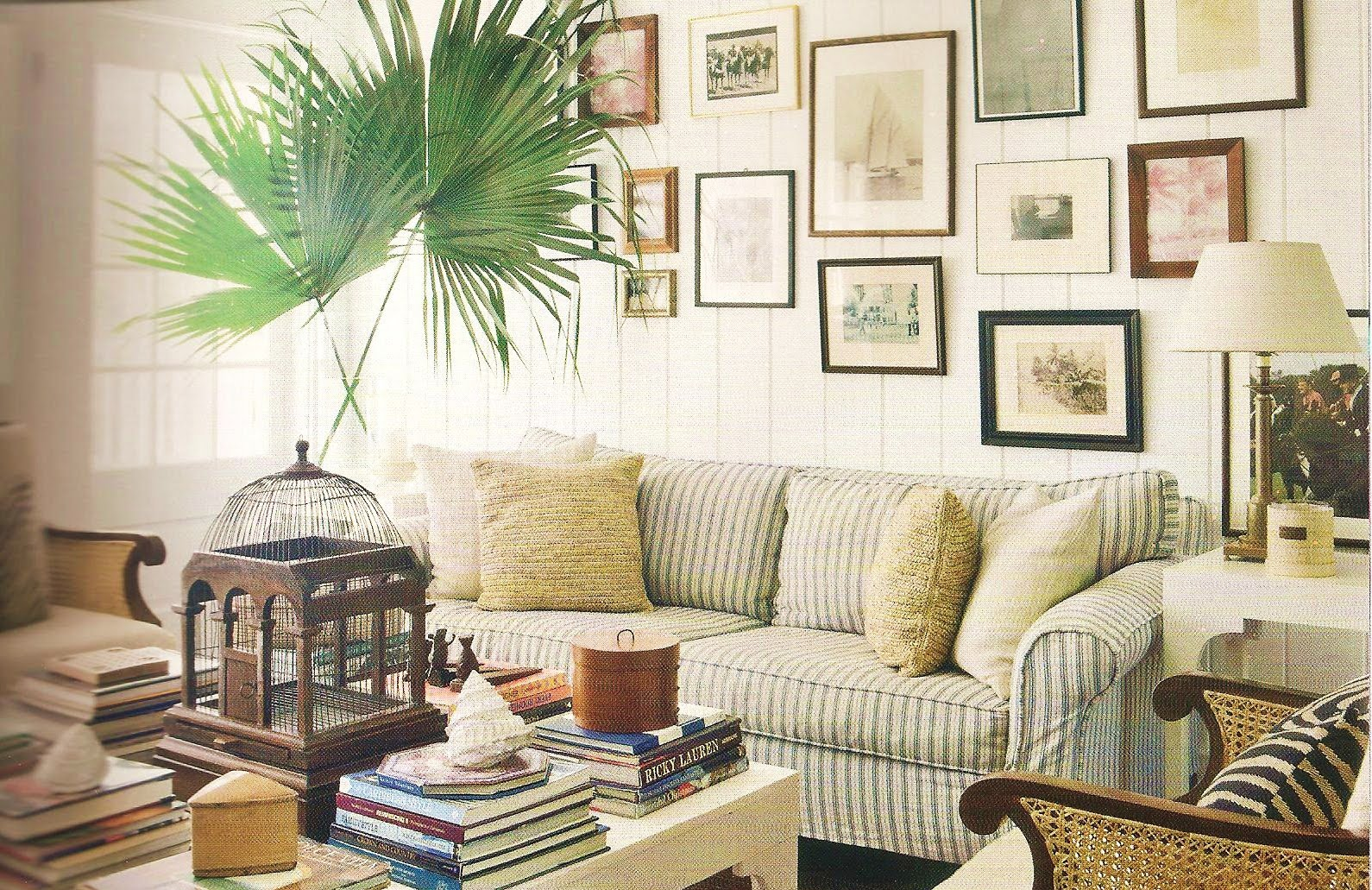 Trunks beach couture interior inspiration india hicks for Living room designs in jamaica