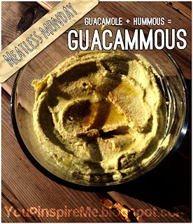 #MeatlessMonday Guacammous: Guacamole + Hummous = Brilliant