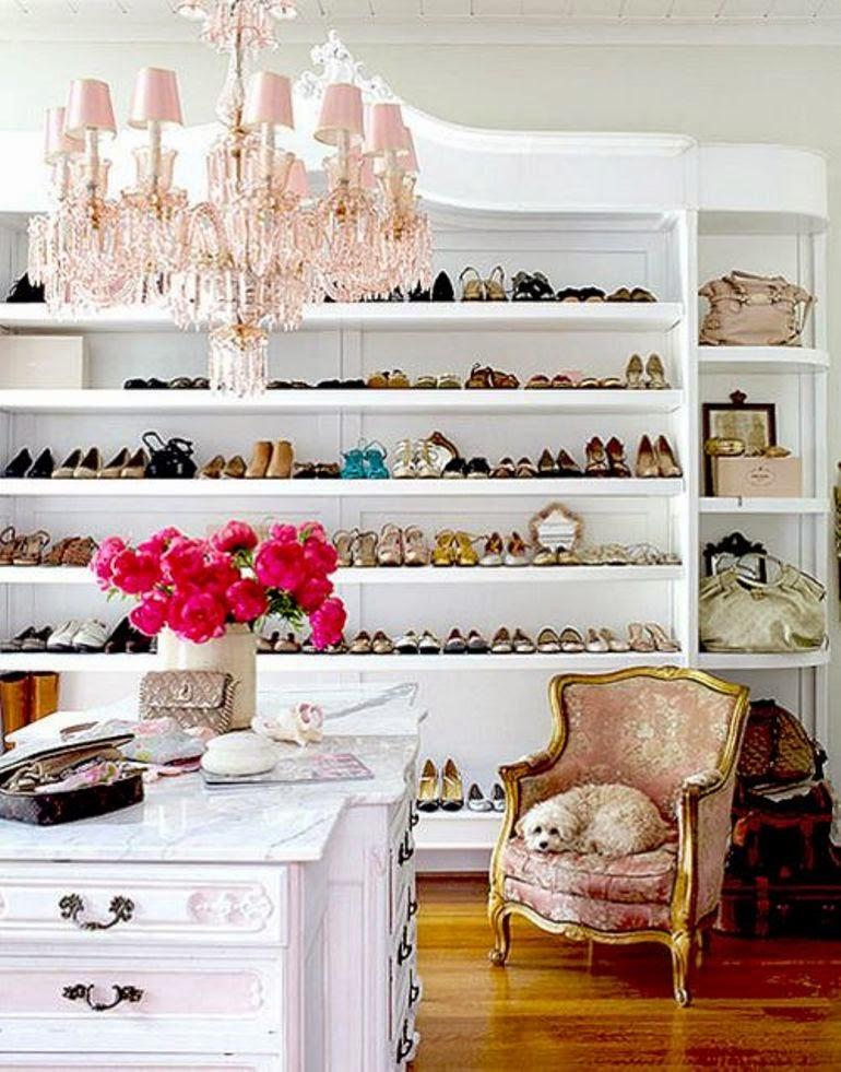 [Get the look] C�mo organizar y decorar tu vestidor